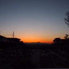 石田晃久 公式ブログ/夕焼け 画像1