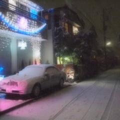 石田晃久 公式ブログ/東京、雪 画像3
