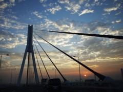 石田晃久 公式ブログ/横浜の夕焼け 画像1