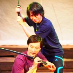 石田晃久 公式ブログ/池袋で殺陣 画像2