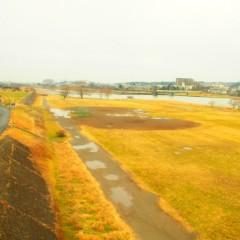 石田晃久 公式ブログ/きようの多摩川 画像1