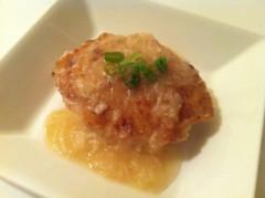 相沢舞 公式ブログ/長芋と鶏ひき肉のハンバーグのレシピ 画像1