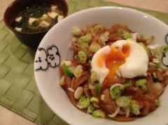 松下まゆみ 公式ブログ/生姜焼き丼。 画像2