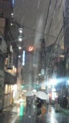 川連廣明 公式ブログ/映画後、雪 画像1