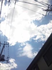 佐々木晃司(The Thank you & Sorry) 公式ブログ/雲が落ちてくる 画像1