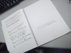 佐々木晃司(The Thank you & Sorry) 公式ブログ/作詞途中! 画像1