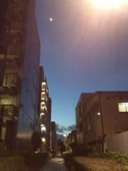 佐々木晃司(The Thank you & Sorry) 公式ブログ/三日月と明けそうな空 画像1