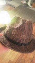 植木紀世彦 公式ブログ/帽子をありがとう。 画像1