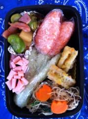 斉藤カオリ 公式ブログ/AOMAMA弁当☆野口さん&たぬきさん&チューリップ  それからつぶやき 画像3
