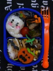 斉藤カオリ 公式ブログ/ハロウィン〜幼稚園弁当☆おばけちゃん☆   画像1