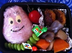 斉藤カオリ 公式ブログ/AOMAMA弁当☆バーバパパ&クリームパンダちゃん(アンパンマン)&フワンテ(ポケモン) 画像1