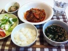 斉藤カオリ 公式ブログ/夕ご飯とプロティン 画像1