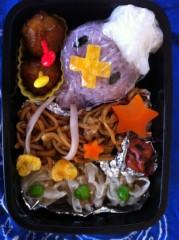 斉藤カオリ 公式ブログ/AOMAMA弁当☆バーバパパ&クリームパンダちゃん(アンパンマン)&フワンテ(ポケモン) 画像3