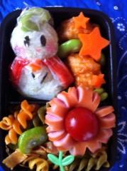 斉藤カオリ 公式ブログ/AOMAMA弁当☆はなさかじいさん&トゲピー(ポケモン)&そら豆王子 画像3