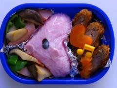 斉藤カオリ 公式ブログ/今日のお弁当昨日のお弁当☆エレキッド&ラブカス☆ 画像1