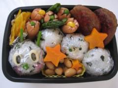 斉藤カオリ 公式ブログ/AOMAMA弁当☆いもむしくん弁当 画像1