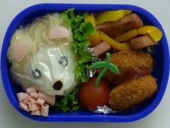 斉藤カオリ 公式ブログ/幼稚園弁当☆イタチくん? 画像1