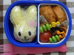 斉藤カオリ 公式ブログ/幼稚園弁当☆うさぎさん 画像1