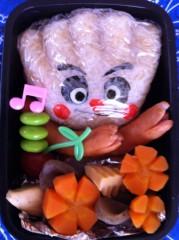 斉藤カオリ 公式ブログ/AOMAMA弁当☆バーバパパ&クリームパンダちゃん(アンパンマン)&フワンテ(ポケモン) 画像2