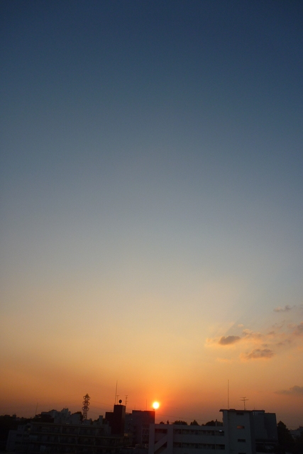 sunset 11/6/2009
