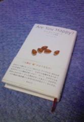 中山孟 公式ブログ/今週の中山 孟が読む本『Are You Happy』 画像1