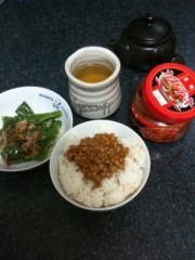 中山孟 公式ブログ/部屋と朝食と孟 画像1