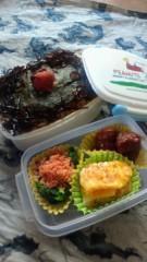 中山孟 公式ブログ/2月26日の目標〜お弁当を公開します〜 画像1