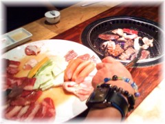 中山孟 公式ブログ/稽古終わりの焼肉 画像1