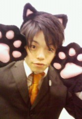 中山孟 公式ブログ/猫耳を付けてみました(笑) 画像1
