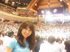 纐纈英里香 公式ブログ/相撲観戦 画像3