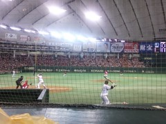 纐纈英里香 公式ブログ/野球観戦・・・・ 画像1