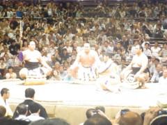 纐纈英里香 公式ブログ/相撲観戦 画像2