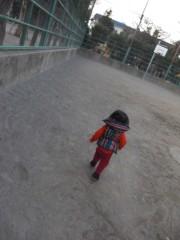 田村月子 公式ブログ/寒いけど公園へ 画像1
