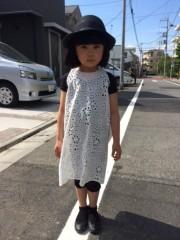 田村月子 プライベート画像 完成!シンプルワンピース!