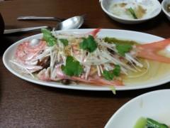 田村月子 公式ブログ/最後の上海蟹 画像2