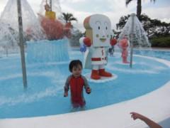 田村月子 公式ブログ/アンパンマンプール! 画像3