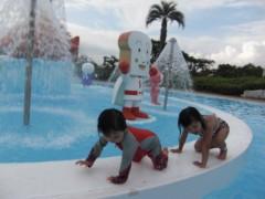 田村月子 公式ブログ/アンパンマンプール! 画像2
