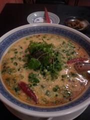 田村月子 公式ブログ/坦々麺 画像1