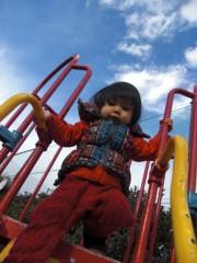 田村月子 公式ブログ/寒いけど公園へ 画像3