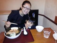 田村月子 公式ブログ/煮干しラーメンとお受験 画像1