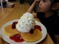 田村月子 公式ブログ/ハンバーガーとパンケーキ 画像2