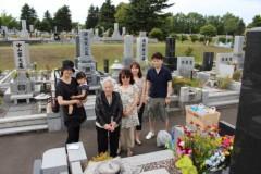 田村月子 公式ブログ/お墓参り 画像1