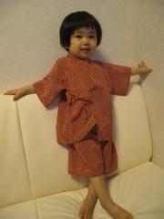 田村月子 公式ブログ/手作り甚平と母子分離 画像2