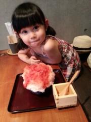 田村月子 公式ブログ/待って待ったかき氷 画像2