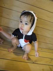 田村月子 公式ブログ/鼻くちょとプール 画像2