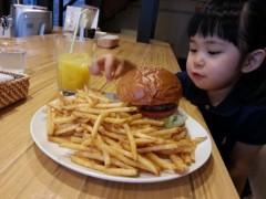 田村月子 公式ブログ/ハンバーガーとパンケーキ 画像1