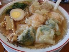 田村月子 公式ブログ/ワンタン麺とピザ 画像1