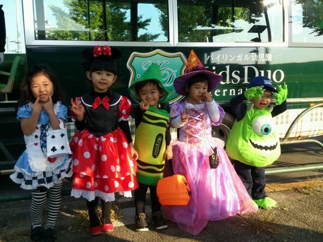 幼稚園のハロウィン