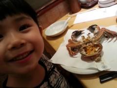 田村月子 公式ブログ/今年初、上海蟹ぃ! 画像2