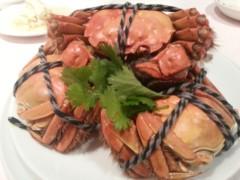 田村月子 公式ブログ/上海蟹、第二弾! 画像1